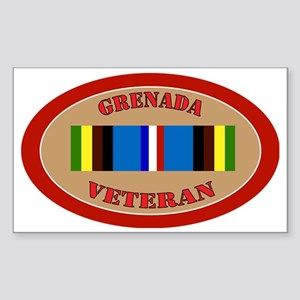 grenada-Expeditionary-oval Sticker (Rectangle)