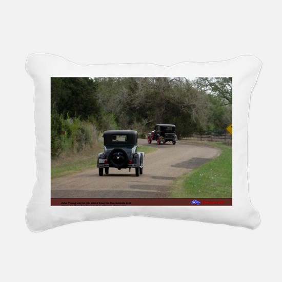 4-6 Rectangular Canvas Pillow