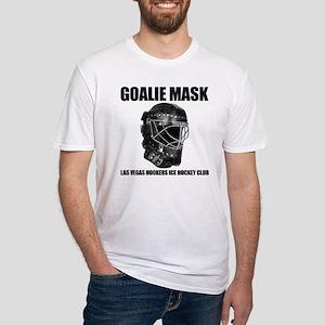 Hockey Goaltender Ice Hockey Men s Fitted T-Shirts - CafePress d33287ec9