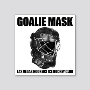 "goaliemask Square Sticker 3"" x 3"""