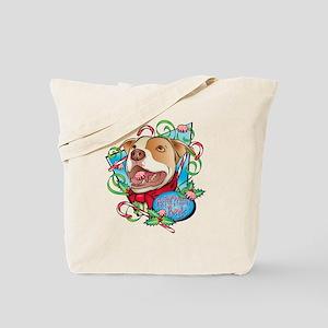 Peppermint Bark Tote Bag