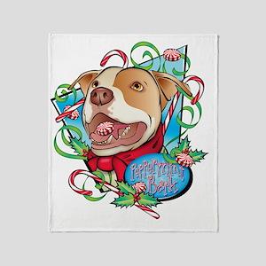 Peppermint Bark Throw Blanket