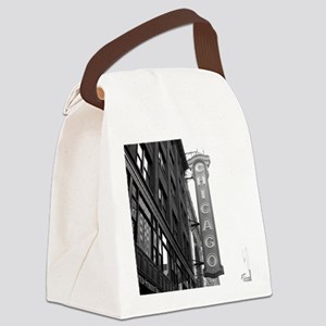 Chicago Theater Canvas Lunch Bag