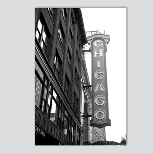 Chicago Theater Postcards (Package of 8)