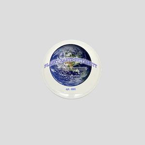 planet earth u Mini Button