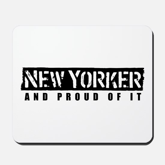 New Yorker 1 Mousepad