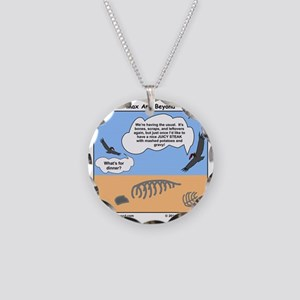 000045A10X10 Necklace Circle Charm
