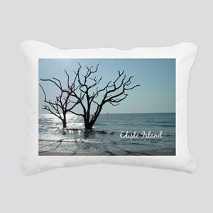 postcard edisto ghost tr Rectangular Canvas Pillow