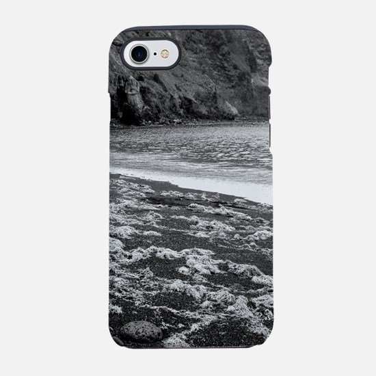 Remote volcanic beach iPhone 7 Tough Case