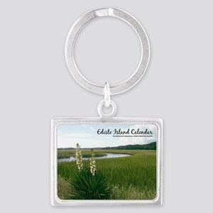 calendar cover edisto Landscape Keychain