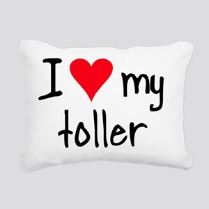 iheartnstoller Rectangular Canvas Pillow