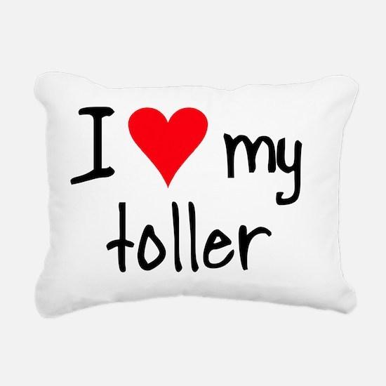 iheartnstoller Rectangular Canvas Pillow