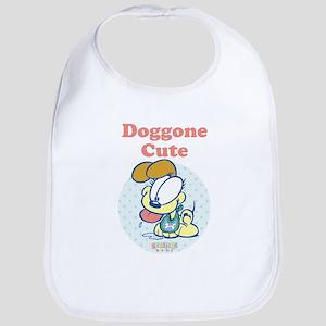 Doggone Cute Odie Baby Bib