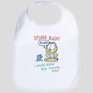 Stand Back! Garfield Baby Bib