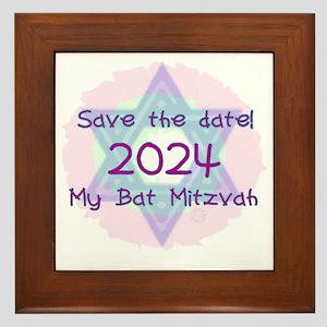 save_the_date_2024 Framed Tile