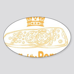 remote king Sticker (Oval)