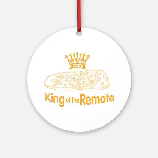 remote king Round Ornament