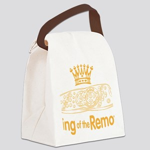 remote king Canvas Lunch Bag