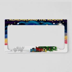Remember-Christmas Sunrise License Plate Holder