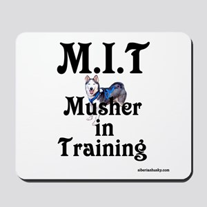 Siberian Husky Dog Sled Musher Mousepad