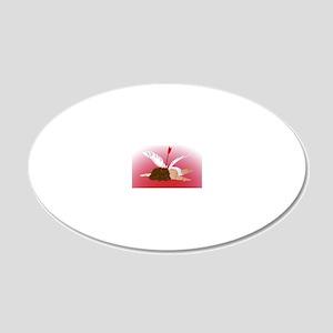 Cupid Shot 20x12 Oval Wall Decal