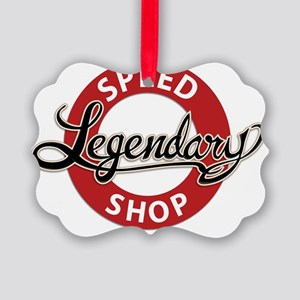 legendary_speedshop_brand Picture Ornament