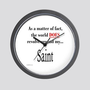 Saint World Wall Clock