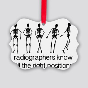 (BXL) Radiographers Know All The  Picture Ornament