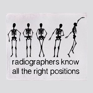 (BXL) Radiographers Know All The Rig Throw Blanket