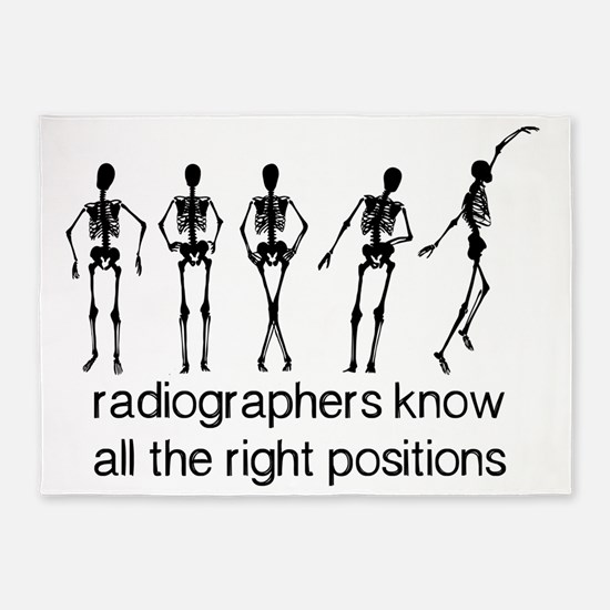 (BXL) Radiographers Know All The Ri 5'x7'Area Rug