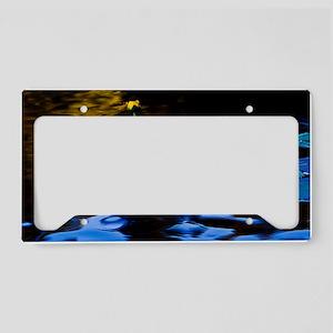 CandlesOnLilyLeaves copy License Plate Holder