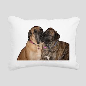 mastiff Rectangular Canvas Pillow