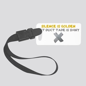 duct tape Small Luggage Tag