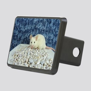 Winter Mouse Rectangular Hitch Cover
