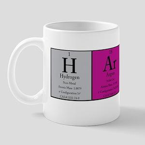 H Ar P Er  Color Polo Mug
