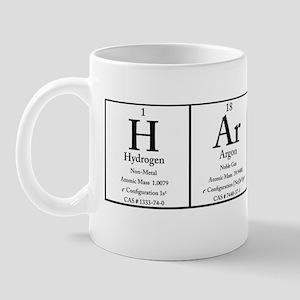 H Ar P Er White Polo Mug