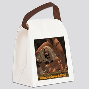 new-friends-in-slgor Canvas Lunch Bag