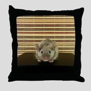 Mousey Throw Pillow