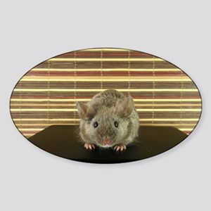 Mousey Sticker (Oval)