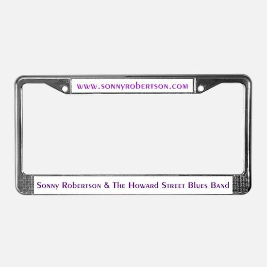Sonny Robertson License Plate Frame