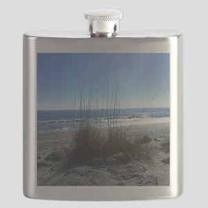 Day at the Beach Flask