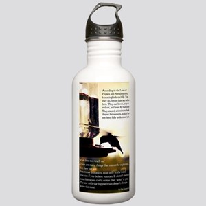 Hummingbird Poster Stainless Water Bottle 1.0L