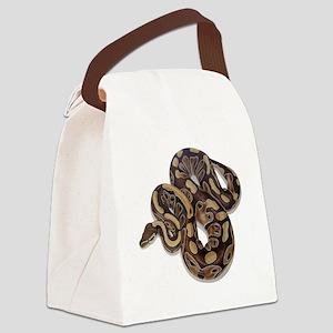 SAM_0191squarewhite Canvas Lunch Bag