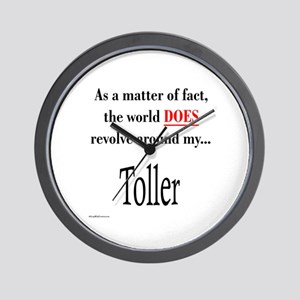Toller World Wall Clock