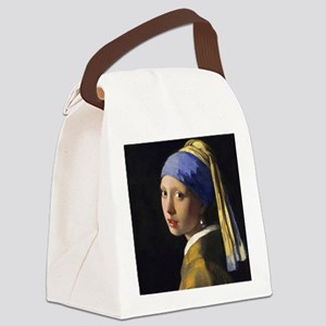 Pillow Vermeer Pearl Canvas Lunch Bag