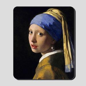 Pillow Vermeer Pearl Mousepad