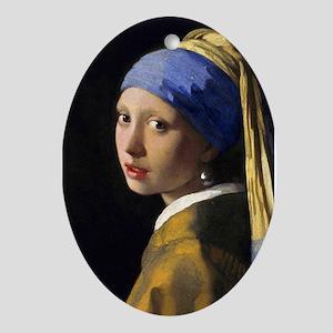 RM Vermeer Pearl Oval Ornament