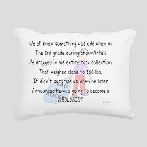Story art geologist 1 Rectangular Canvas Pillow