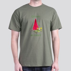 Gnome at Heart Dark T-Shirt