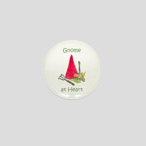 Gnome at Heart Mini Button